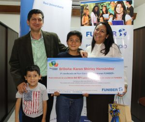 "FUNIBER awards the second prize of its contest ""FUNIBER Opinions"" in Costa Rica"