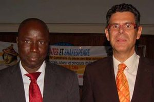 The Executive Director of FUNIBER in Senegal meets with important public figures from the country