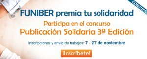 """FUNIBER begins the 3rd edition of the contest """"Solidary Writing"""""""