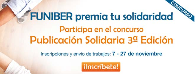 "FUNIBER begins the 3rd edition of the contest ""Solidary Writing"""