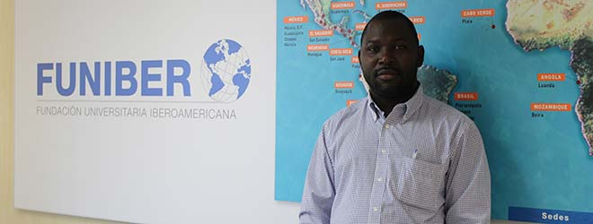 FUNIBER's representative in Equatorial Guinea visits the Foundation's headquarters in Spain