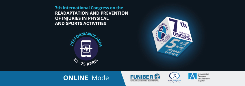 Presentations from the Performance Area to be offered in the International Congress on Rehabilitation and Injury Prevention organized by FUNIBER