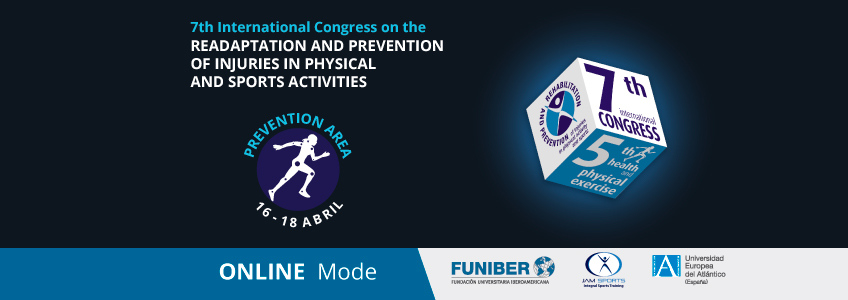 Presentations from the Prevention Area to be offered in the International Congress on Rehabilitation and Injury Prevention organized by FUNIBER