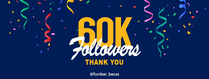 FUNIBER's Instagram account reaches 60,000 followers