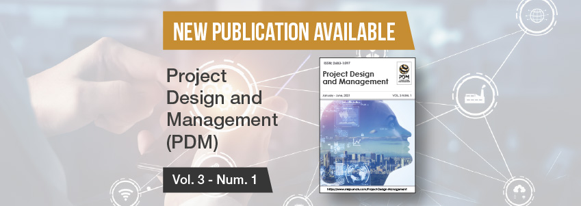 New issue of the Project Design and Management journal, sponsored by FUNIBER
