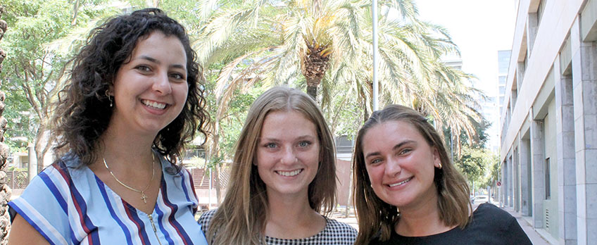 Journalism students appraise their extracurricular work placement experience at FUNIBER